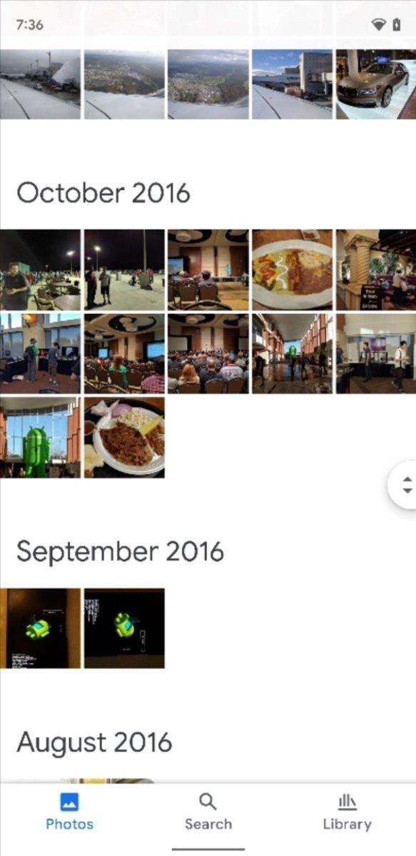 """Google Photos ya está probando su nueva interfaz basada en """"Material usted"""""""