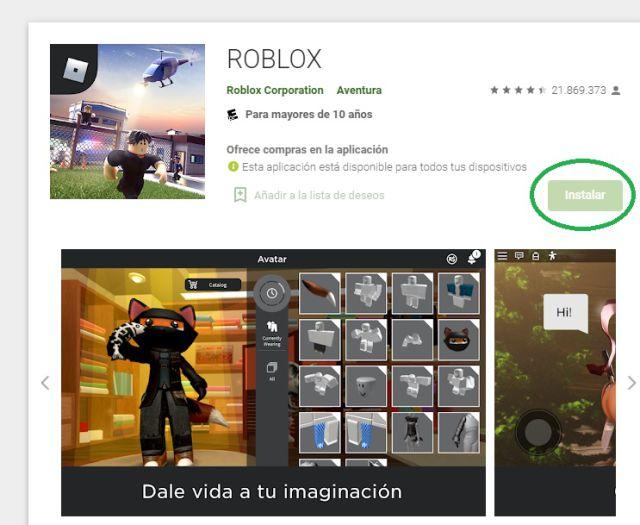 Roblox cómo descargar instalar gratis pc iOS Android