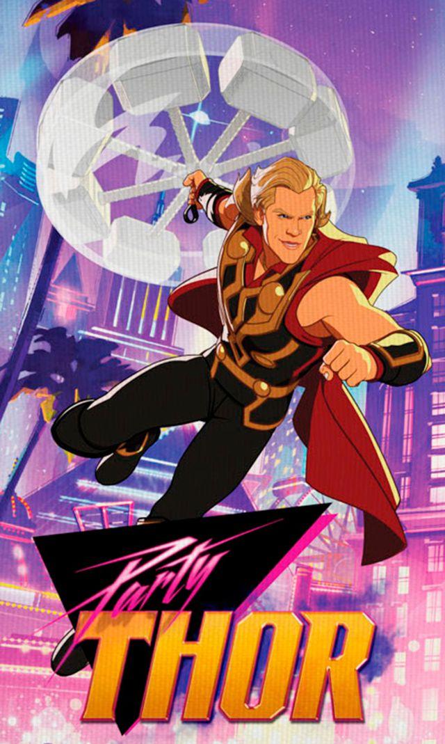 ¿Y si ...?: Así lucen las nuevas versiones de Party Thor, Star Lord, Captain Britain y muchas más