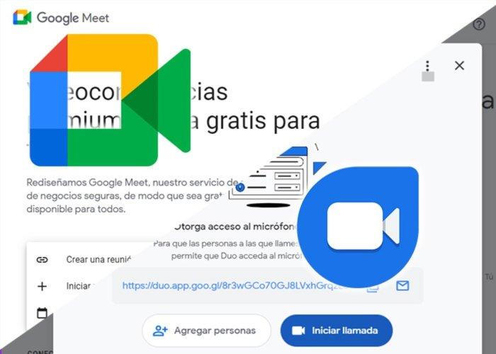 Google Meet o Google Duo ¿Cuál debo usar?