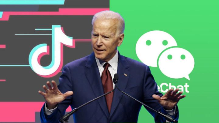 Joe Biden levanta las prohibiciones de WeChat y TikTok en los Estados Unidos.