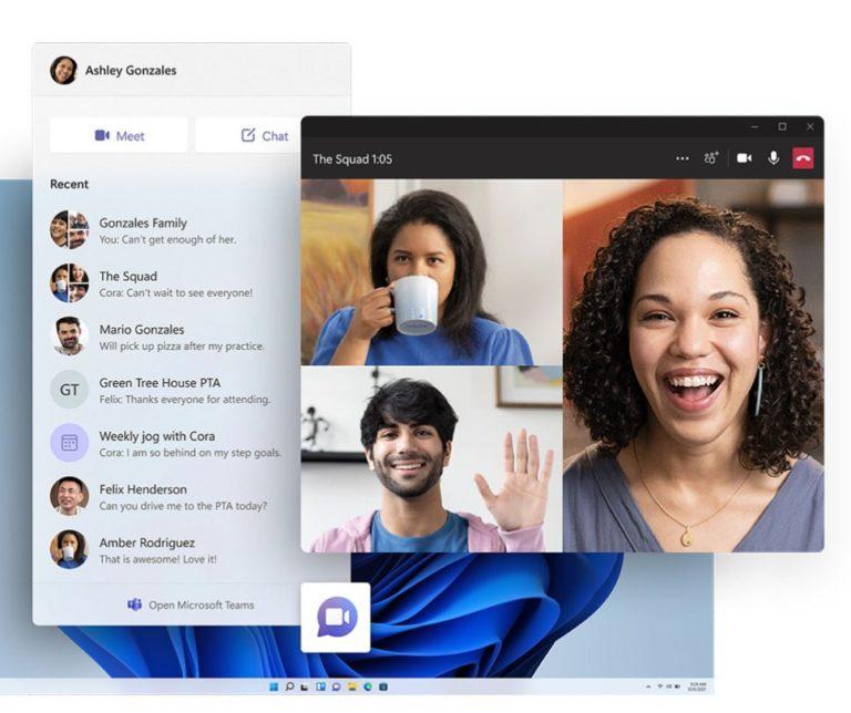 Teams es parte de Windows 11. (Foto: Microsoft)