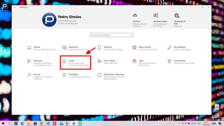 Aplicaciones de inicio de Microsoft Windows 10