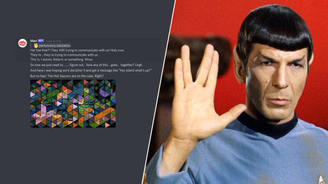 Fortnite episodio 2 temporada 7 pistas de colaboración de Star Trek