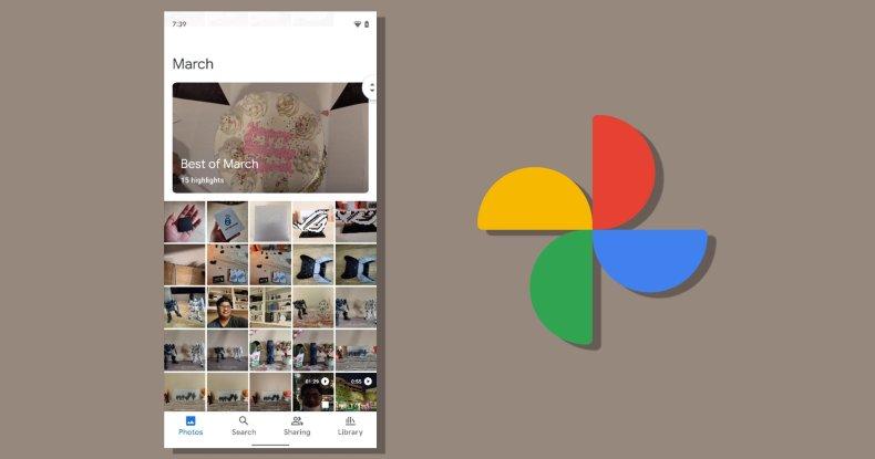 Nuevo diseño de Google Photos