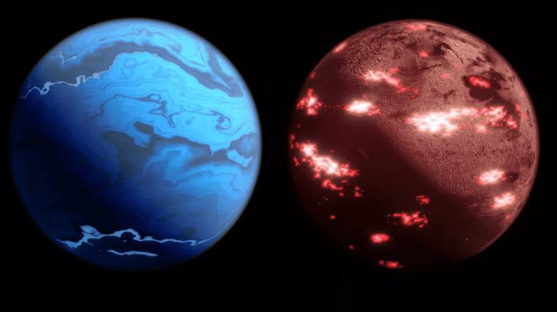 Ejemplos de dibujos de exoplanetas que observará la misión Twinkle