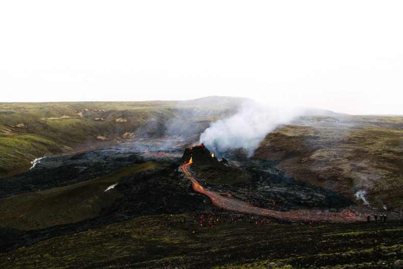 Volcán Fagradalsfjall