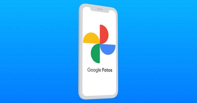 Google Fotos en un iPhone