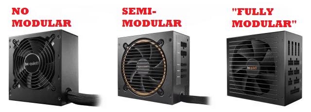 no modular vs modular