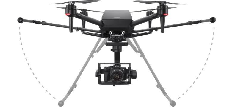 Sony anuncia oficialmente el Airpeak S1, un dron de nivel profesional