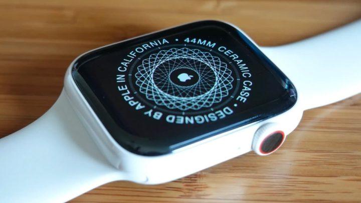 Imagen Apple Watch Series 5 en cerámica