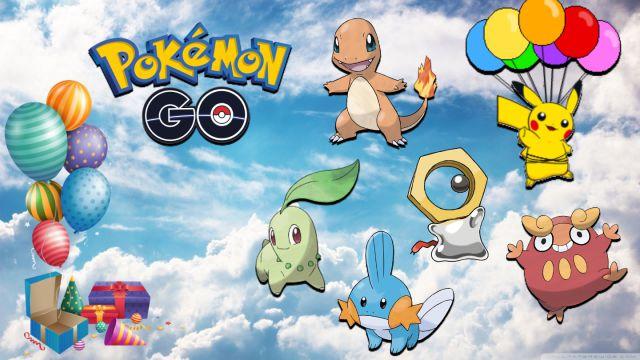 Pokémon GO - Evento del quinto aniversario