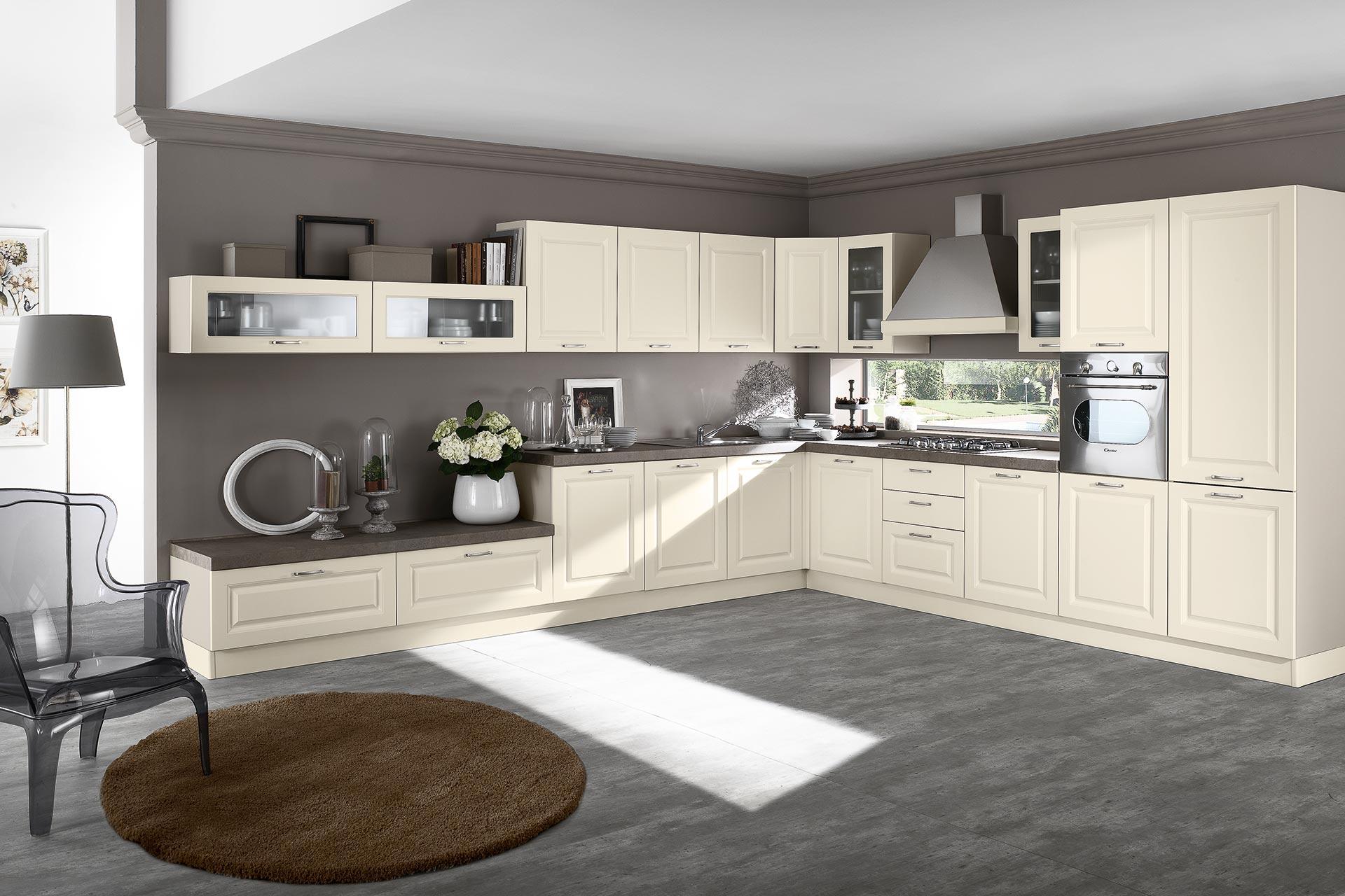 Cucina classica Anita le essenze classiche del legno