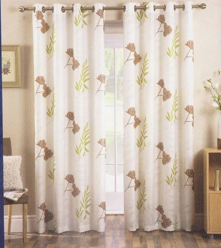ada eyelet dress curtain in voile patio