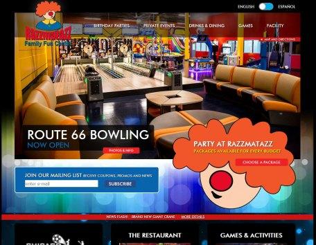Recreation web site