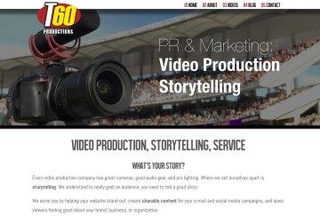 Video production web site