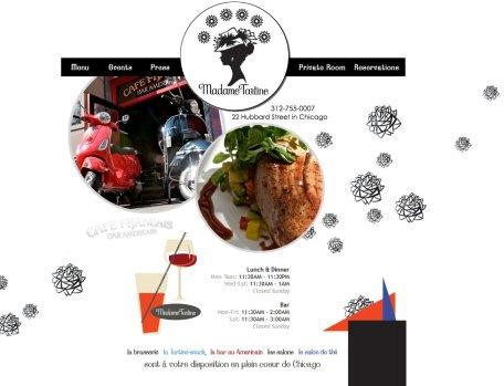 Restaurant web site