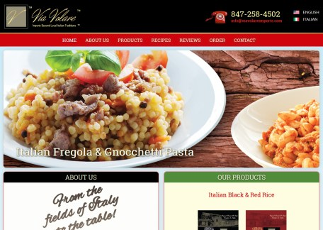 Food & Drink web site
