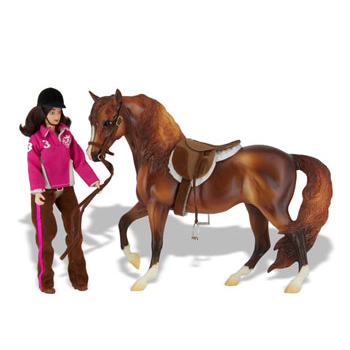 Breyer Let S Go Riding English Play Set 1409