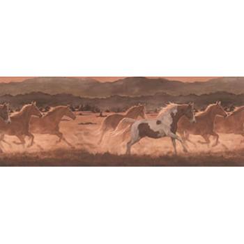 Wild Horses Wallpaper Border