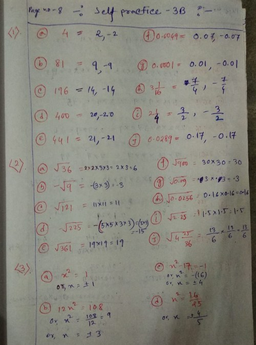 small resolution of New Learning Composite Mathematics Class 8 SK Gupta Anubhuti Gangal Squares  and Square Roots