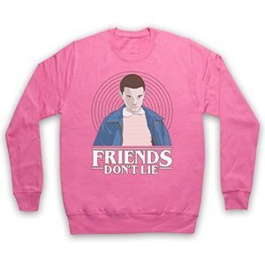 Stranger-Things-Elle-Eleven-11-Friends-Dont-Lie-Sweat-Shirt-des-Adultes-0