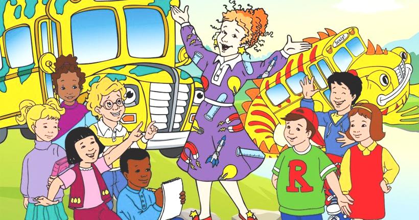 busmagique feat Cest mercredi ! Montez à bord du bus scolaire magique !