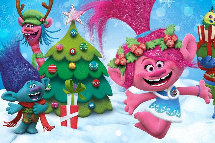 trolls special fetes netfix La magie de Noël en 6 dessins animés uniquement sur Netflix