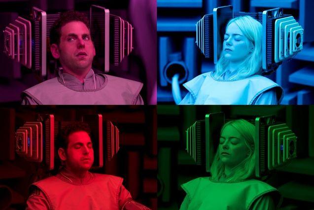 maniac photo jonah hill emma stone 1019127 Les premières photos de la série Maniac révélées par Netflix