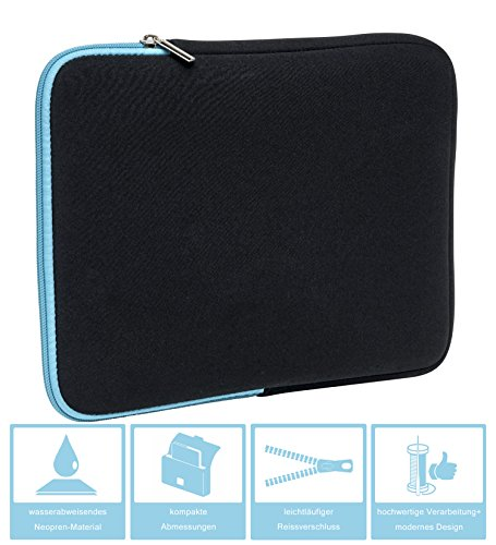 Slabo-Tablette-Housse-pour-Huawei-MediaPad-M5-M5-Pro-108-Housse-de-Protection-en-noprne-TurquoiseNoir-0-0