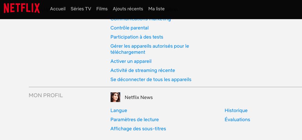 Capture d'écran 2019 01 23 à 21.01.57 Comment supprimer un programme de son historique Netflix ?