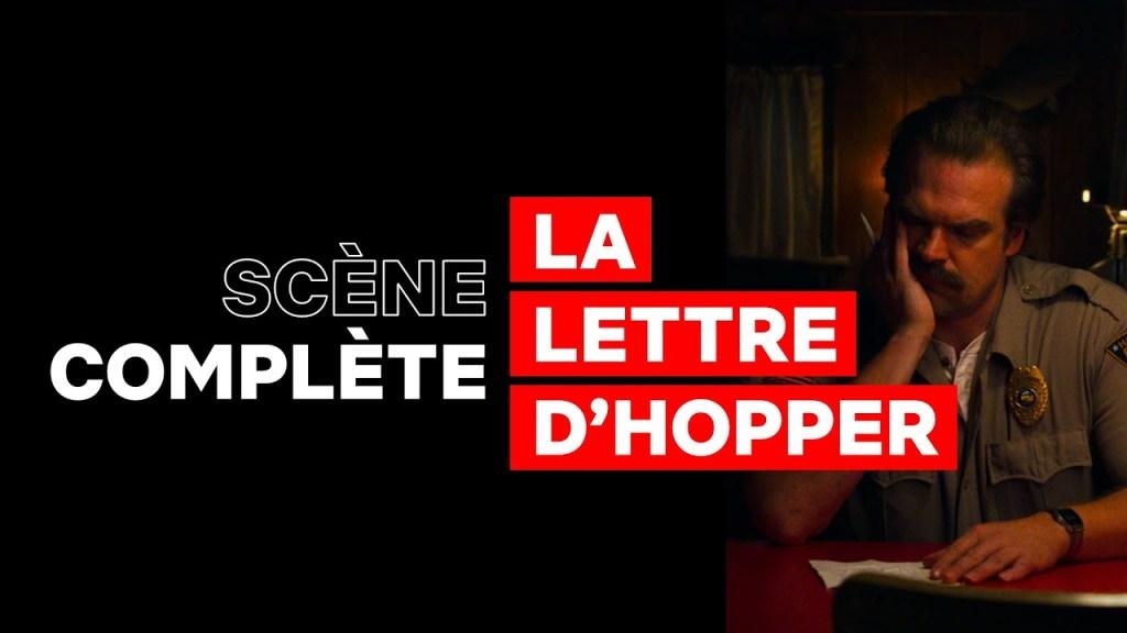 LA LETTRE DE HOPPER I Stranger Things 3