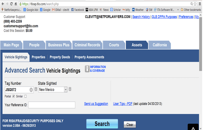 Pay License Plate Online
