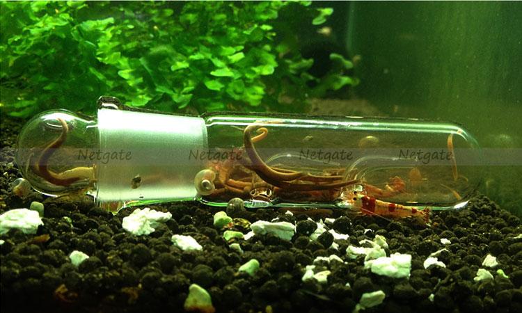 High Quality Aquarium Glass Worm Catch Pen Planaria Trap