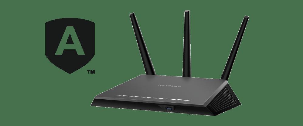 medium resolution of ac2300 nighthawk smart wifi router with netgear armor