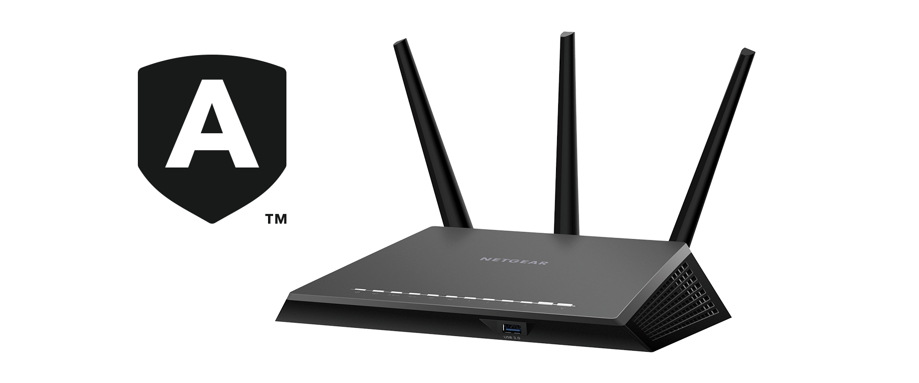 hight resolution of ac2300 nighthawk smart wifi router with netgear armor