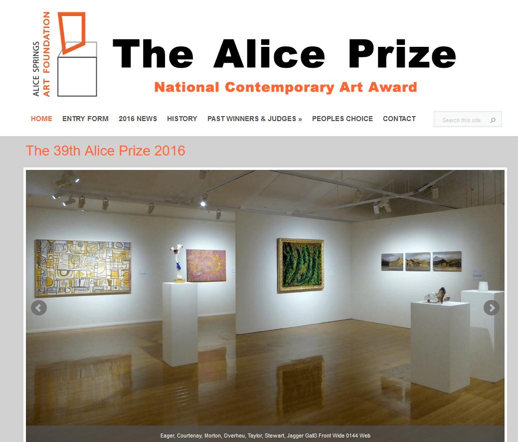 Alice Prize