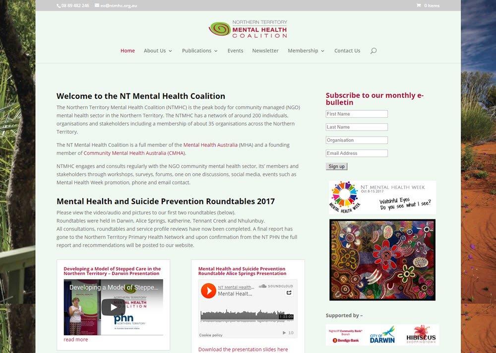 NT Mental Health Coalition
