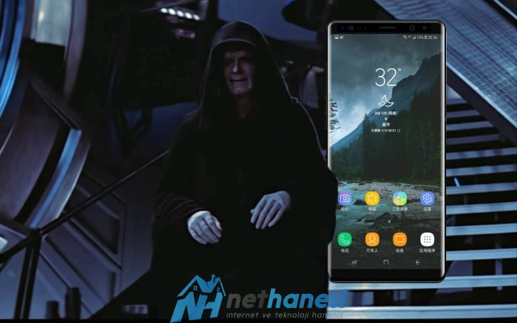 Galaxy Note 8 İmparator Versiyon