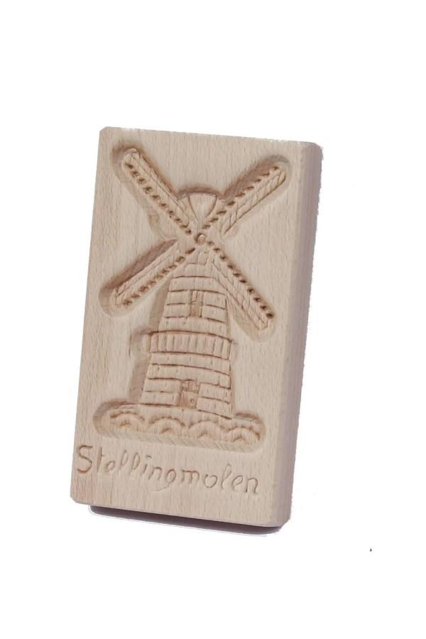 Cookie Mould, Stellingmolen, 15 Cm / 6 Inch - Woodenshoefactory Marken