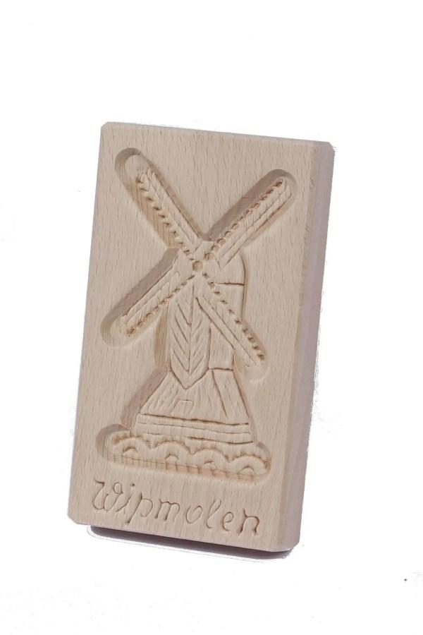 Cookie Mould, Wipmolen, 15 Cm / 6 Inch - Woodenshoefactory Marken