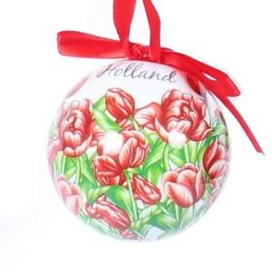 Christmas Ornament, Holland, Unbreakable - Woodenshoefactory Marken