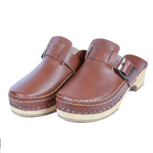 clogs with buckle