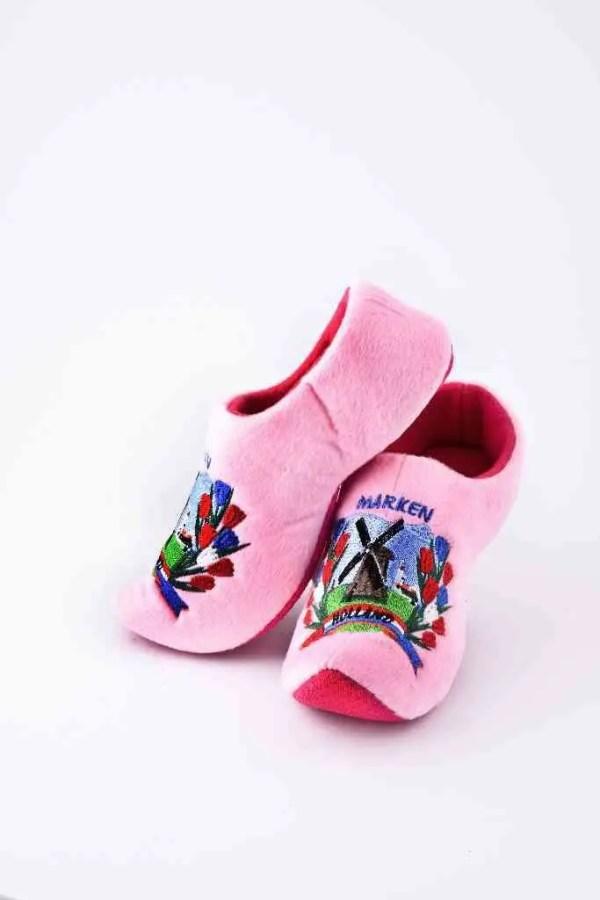 "Soft ""Wooden"" Shoe Pink - Woodenshoefactory Marken"