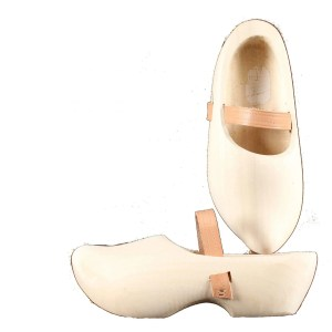 wooden slippers