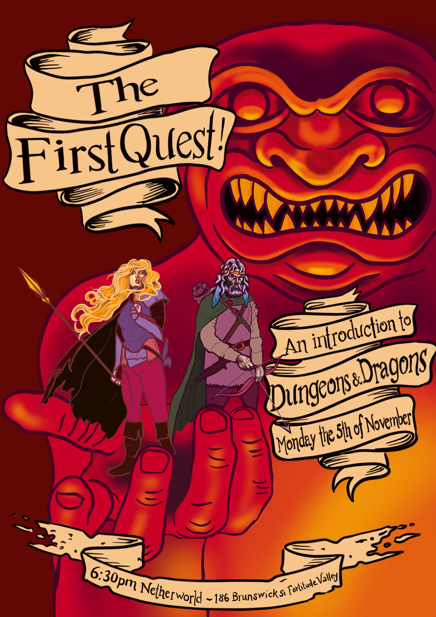 dungeons dragons the first quest