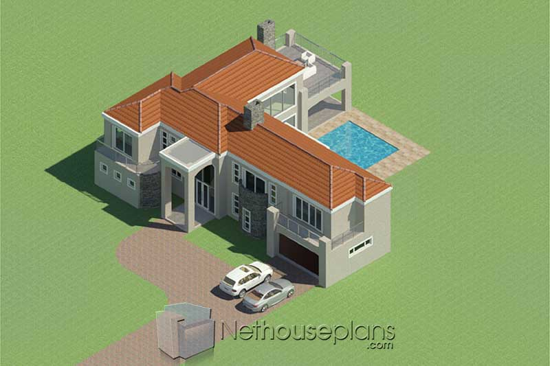 3 Bedroom House Plans With Double Garages - Three Bedroom ...