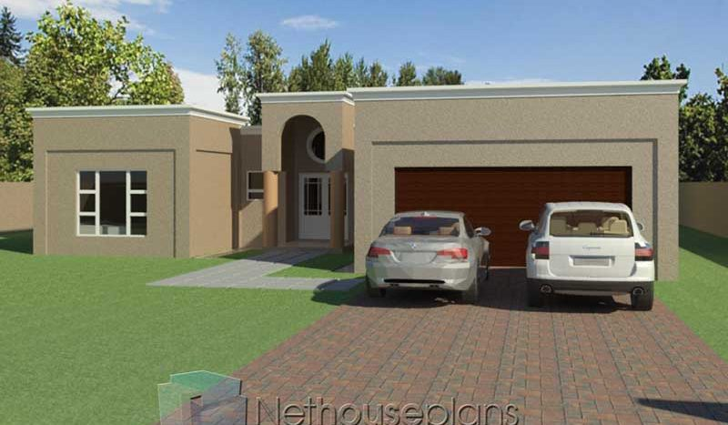 Modern Flat Roof House Plans 304sqm House Designs Nethouseplansnethouseplans