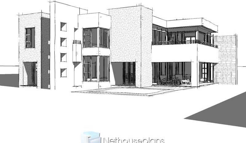 Modern House Plans South Africa 3D Modern 4 bedroom house plans South Africa 4 bedroom modern house plans with photos moder double storey house plans double storey modern house plans for sale modern 4 bedroom double storey house plans South AFrica modern double storey house plans pdf downloads Nethouseplans