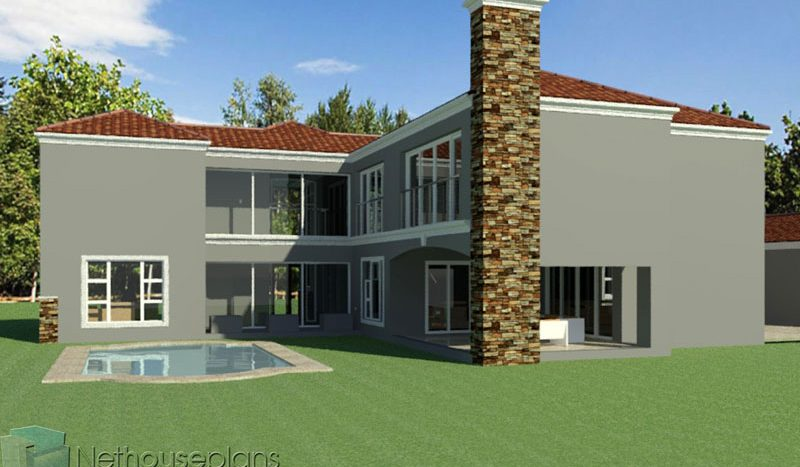 house plans south africa 5 bedroom house plan simple 5 bedroom house plans luxury house plans pdf download double story Tuscan house designs modern 5 bedroom double storey house plans 5 bedroom modern house plans south africa Nethouseplans